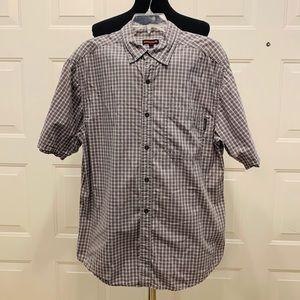 🔥🔥 Wolverine Short Sleeve Buffon Shirt Sz Large